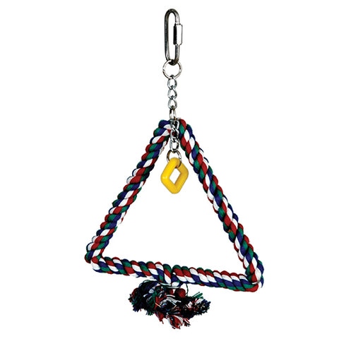Featherland Paradise Cotton Triangle Swing