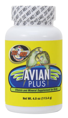 Zoo Med Avian Plus Supplement with Vitamin D3