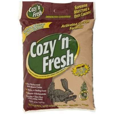 Cozy 'N Fresh Natural Pellet Pine Bedding / Litter for Small Animals, Birds & Reptiles 20 lbs