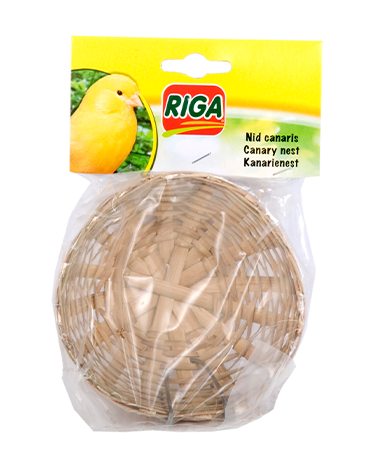 Riga Bird Nest for Canary - Exotic Wings and Pet Things