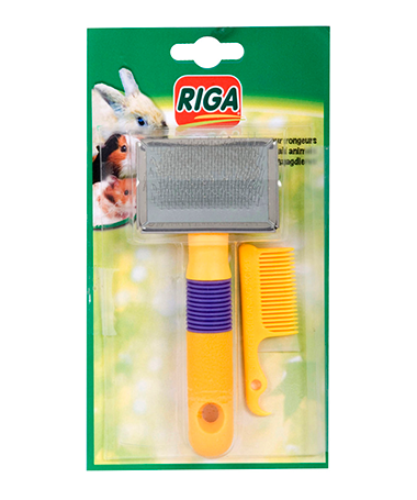 Riga Slicker Detangler for Small Animals - Exotic Wings and Pet Things