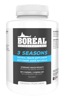 BORÉAL 3 Seasons Natural Health Supplement for Dogs