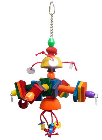 Zoo-Max 441 THE SATELLITE Medium Bird Toy - Exotic Wings and Pet Things