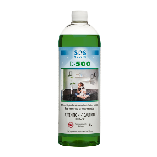 SOS Odours D-500 Floor Cleaner and Pet Odour Neutralizer Dog/Cat - Exotic Wings and Pet Things