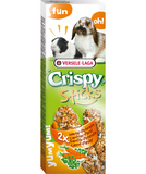 Versele-Laga Crispy Sticks Carrot & Parsley for Rabbit/Guinea Pig 2 Pack - Exotic Wings and Pet Things