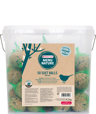 Versele-Laga Menu Nature Suet Ball 50 Pack - Exotic Wings and Pet Things