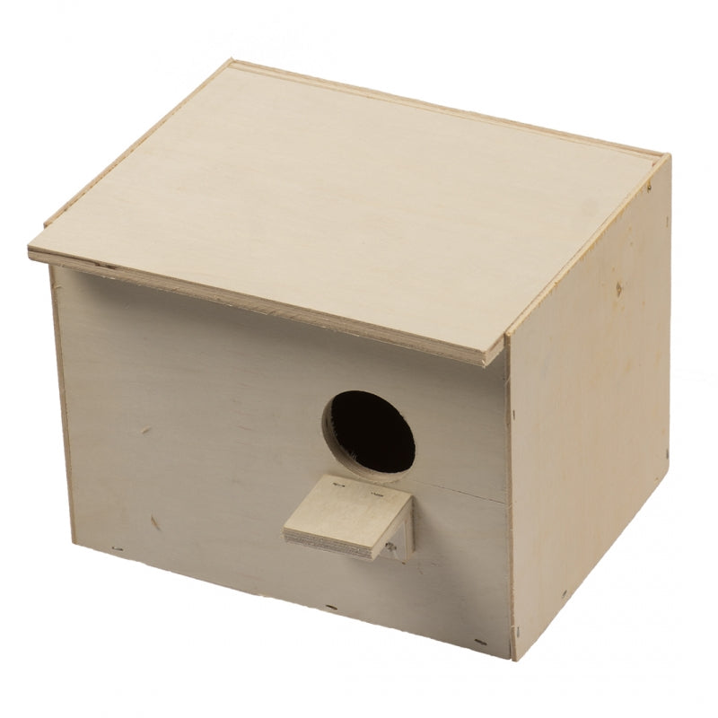 Budgie Nest Box Horizontal - Exotic Wings and Pet Things