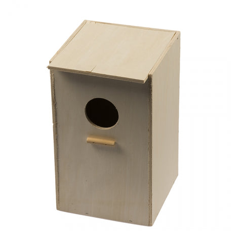 Cockatiel nestbox-vertical - Exotic Wings and Pet Things