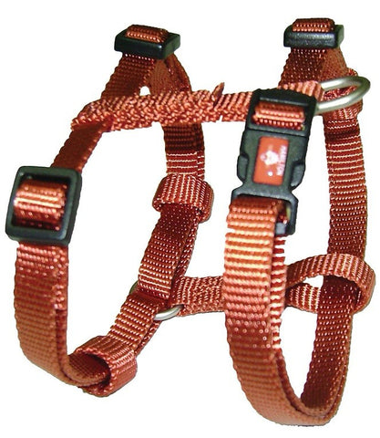 Hamilton Adjustable Dog Harness H Style Earth Tone Series