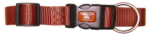 Hamilton Adjustable Nylon Collar Earth Tone Series