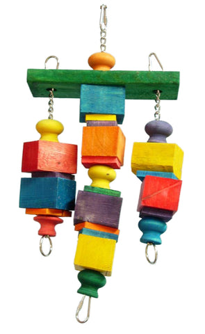 Zoo-Max 610 Tsadoq Bird Wood Toy - Exotic Wings and Pet Things
