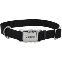 Coastal Adjustable Dog Collar with Metal Buckle for Dogs