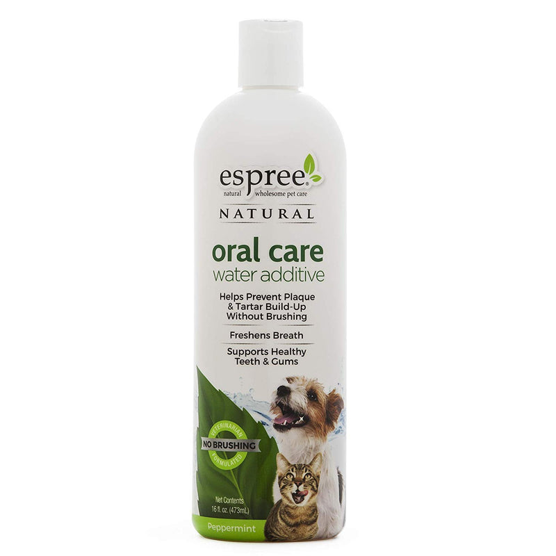 Espree Oral Care Water Additive - Peppermint - Exotic Wings and Pet Things