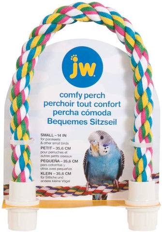 JW Comfy Rope Perch Small - Exotic Wings and Pet Things