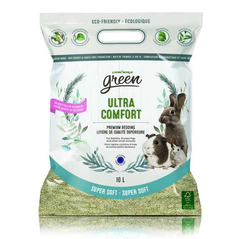 Living World Green Super Soft Ultra Comfort Bedding 10 L - Exotic Wings and Pet Things