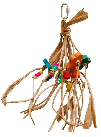Zoo-Max 681 Small Paper Rope Bird Toy - Exotic Wings and Pet Things