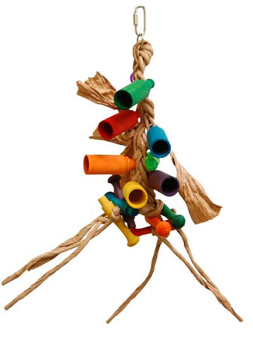 Zoo-Max 684 Medium paper Rope Bird Toy - Exotic Wings and Pet Things