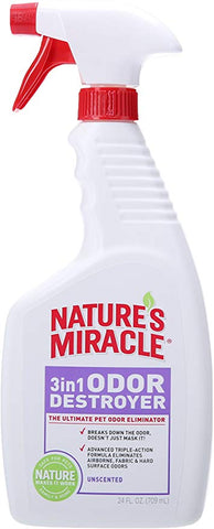 Nature's Miracle 3 IN 1 Dog Odor Remover 24oz