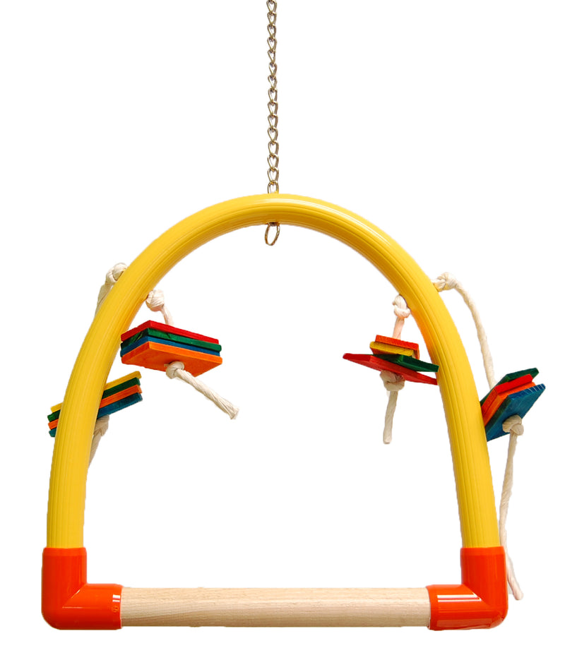 Zoo-Max 756 MEDIUM PERCH Swing Parrot Toy - Exotic Wings and Pet Things