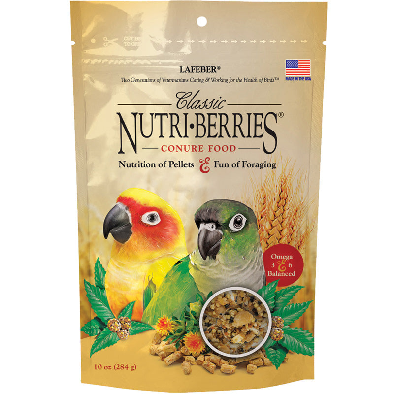 Lafeber's Classic Nutri-Berries for Conures 11oz - Exotic Wings and Pet Things