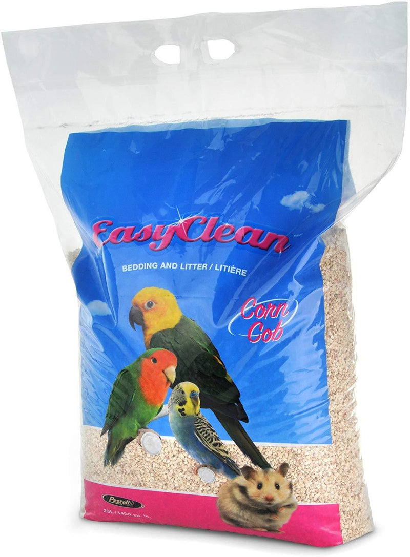Pestell Easy Clean Corn Cob Bedding / Litter 46 L - Exotic Wings and Pet Things