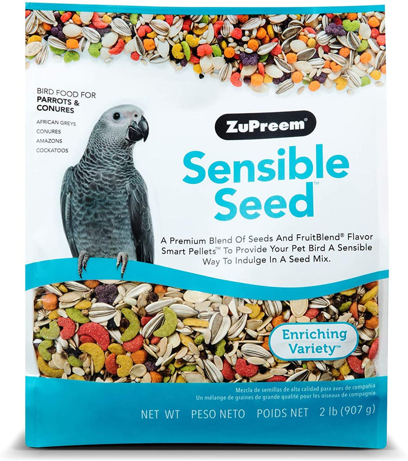 Zupreem Sensible Seed Enrichment Mix for Parrots & Conures 2lb