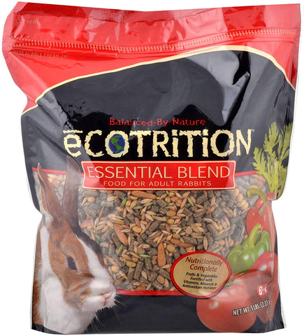 eCOTRITION Essential Blend Rabbit Diet 5lb