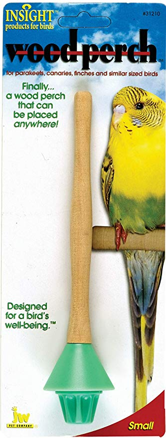 JW Insight Wood Perch (2 Sizes) - Exotic Wings and Pet Things