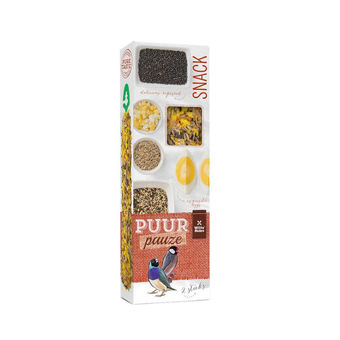 Witte Molen Puur Pauze Seed Sticks for Tropical Birds & Finches 2 Sticks