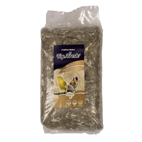 Witte Molen Top Fresh Animal Hair Finch & Canary Nesting Material 500g - Exotic Wings and Pet Things