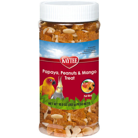 Kaytee Papaya, Peanut & Mango Treat 10 oz - Exotic Wings and Pet Things