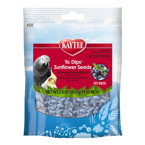 Kaytee Yo Dips Blueberry Sunflower Seed Treat 2.5 oz - Exotic Wings and Pet Things