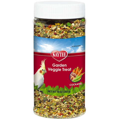 Kaytee Garden Veggie Treat Cockatiel 10 oz - Exotic Wings and Pet Things