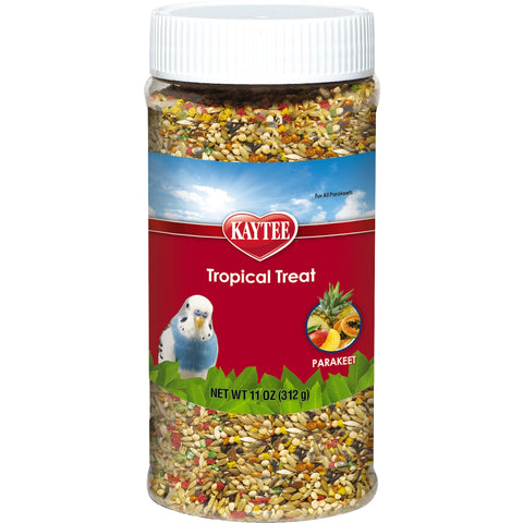 Kaytee Tropical Treat Parakeet 11 oz - Exotic Wings and Pet Things