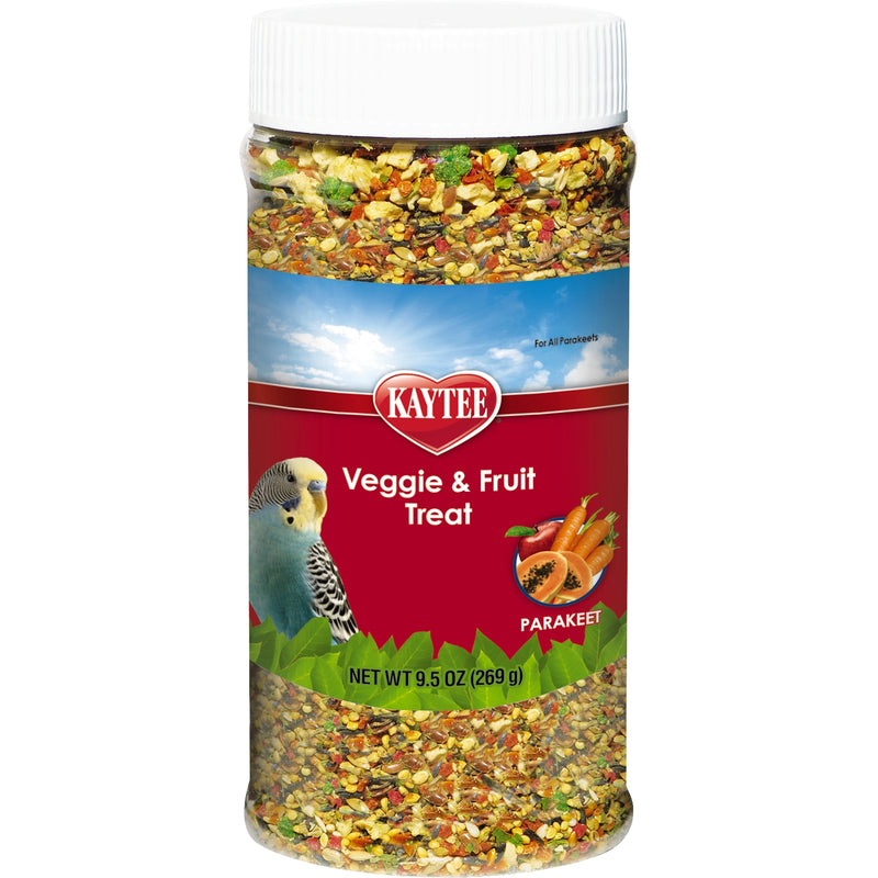 Kaytee Fruit & Veggie Treat 9.5 oz - Exotic Wings and Pet Things