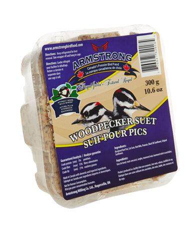 Armstrong Royal Jubilee Wood Pecker Suet 300 g - Exotic Wings and Pet Things
