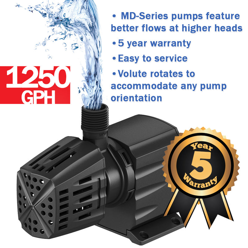 Atlantic Mag Drive MD-Series Pump 1250 GPH