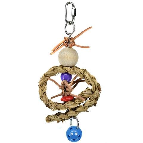Billy Bird Seagrass Ring Bird Toy - 403 - Exotic Wings and Pet Things