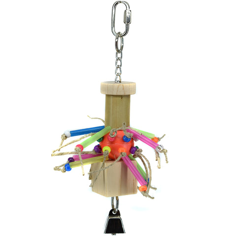 Billy Bird Straw Burst Bird Toy - 415 - Exotic Wings and Pet Things