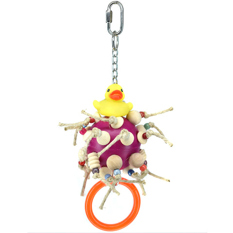 Billy Bird Duck-N-Roll Bird Toy - 3001 - Exotic Wings and Pet Things