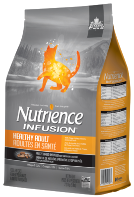 Nutrience Infusion Healthy Adult Chicken Recipe Cat Food 5 lb Special Order