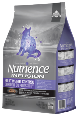 Nutrience Infusion Healthy Adult Weight Control Cat Food