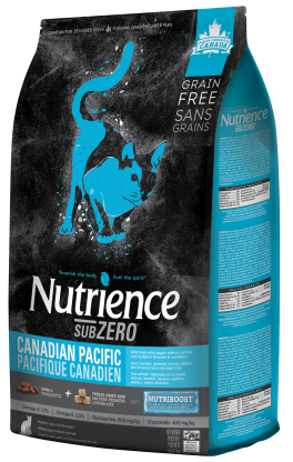 Nutrience SubZero Grain Free Canadian Pacific Freeze-Dried Cat Food 11 lbs