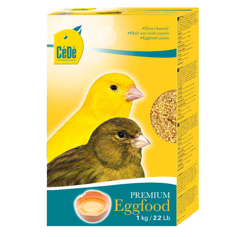CéDé Premium Egg Food for Canaries - 1kg - Exotic Wings and Pet Things
