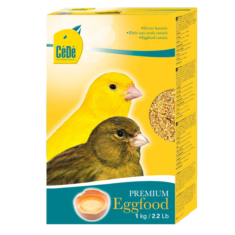 CéDé Premium Egg Food for Canaries - Exotic Wings and Pet Things