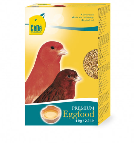 CéDé Premium Red Eggfood for Canaries - 1kg - Exotic Wings and Pet Things