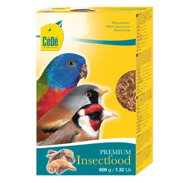 CéDé Premium Insect Food - 600 g / 1.32 lbs - Exotic Wings and Pet Things