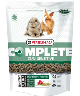 Versele-Laga Complete Sensitive Cuni Rabbit Food - Exotic Wings and Pet Things