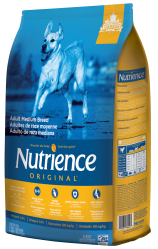Nutrience Original Adult Medium Breed - Chicken & Brown Rice Recipe - Exotic Wings and Pet Things