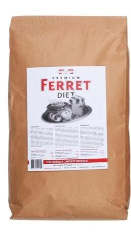 Marshall Premium Ferret Diet 18 lb - Exotic Wings and Pet Things
